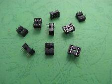 30pcs DIP 6 Pin IC Adaptor Adapter Socket  Pitch DIP6 DIP-6