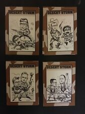 Crown Sports Cards THE DESERT STORM Card Collection Set 1991 GEORGE BUSH NM/M