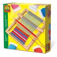 SES CREATIVE Children's Weaving Loom Kit, Unisex, 6 Year to 12 Years