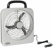 """ROADPRO RP8000 12-VOLT / BATTERY OPERATED 10"""" PORTABLE FAN"""