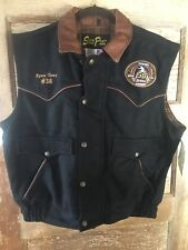 2008 NFR Bareback Riding Contestant Ryan Gray Wool Vest PRCA South Point Vegas