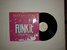 "Instant Funk – Funk It  -Disco Mix 12"" 45 Giri Vinile Stampa GERMANIA 1990"