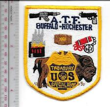ATF New York State Buffalo & Rochester Treasury Field Office Agent Service Patch