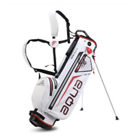 Big Max Aqua 7 100% Waterproof Stand Bag in White/Red New Model Brand New Boxed