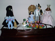 TONNER WIZARD OF OZ SET MINT THE REAL ACTOR 2006 CONVENTION EDITION + MUNCHKINS