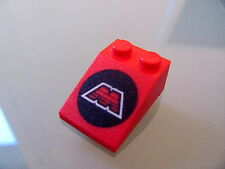 LEGO 3298p68 @@ Slope 33 3 x 2 with MTron Logo Pattern @@ 6862 6877 6989