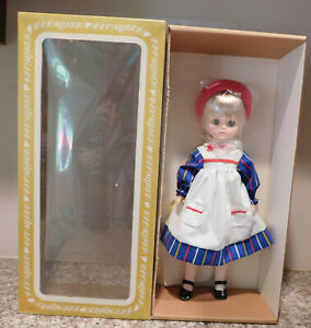 """RARE Effanbee F&B Chipper Stripe 14"""" Jointed Vinyl  Girl Doll NRFB in Sealed Box"""