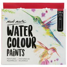 Mont Marte Paint Set - Watercolour Paint 24pc x 12ml
