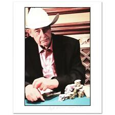 """Doyle Brunson"" Limited Edition Lithograph by Larry Grossman and Craig De Thomas"