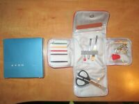 NIB Avon all in one essentials kit fixit sewing scissors magnifier screwdrivers