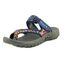 Calzado de mujer sandalias con tiras Skechers de lona
