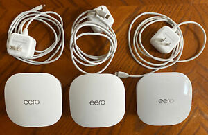 eero mesh (3rd Generation) Wi-Fi Router/Extender - Pack of 3, J010001