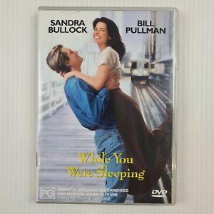 While You Were Sleeping DVD - Sandra Bullock, Bill Pullman - R4 - TRACKED POST