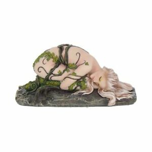 ONE WITH EARTH FIGURINE NATURE MOTHER FEMALE ORNAMENT GAIA FOREST PAGAN WICCAN