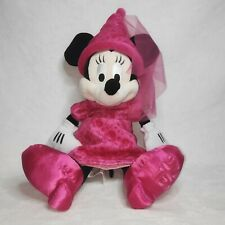 """New listing Minnie Mouse Disney Parks Plush Soft Toy Princess 2015 Limited Edition 19"""" Nwt"""