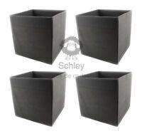 FYSSE, Storage, 4er Set, Box, Fach, Kiste, IKEA, grau, 30x30x30cm, FLYSTA, Regal