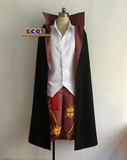 ONE PIECE Red-Haired Shanks Cosplay costume uniform overcoat