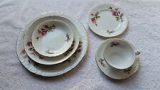 Grant Crest Fine China Royal Rose 6 Piece Place Setting