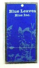 Applikation zum Aufbügeln Bügelbild 3-590 Blue Leaves