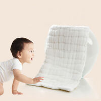Soft 12 Layers Bamboo Fiber Insert Liners for Cloth Diaper Baby Clothes Infants