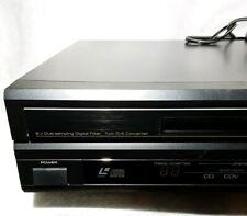 Vintage Yamaha Natural Sound CD CDV LD Player CDV-1100 CD And Video Rare