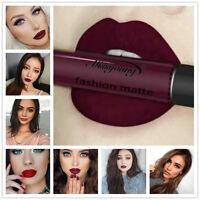 Matt Damen Lippenstift wasserdicht Lippenstift Lip Gloss Make up 12 Farben Neu.