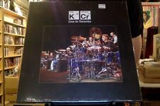 King Crimson Live in Toronto 4xLP sealed vinyl box set