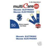 50x Blutzucker Glucose IN Teststreifen für ( Multicare in messgerät - 3in1