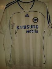 Mens Football Shirt - Chelsea FC - Adidas - Away 2006-07 - SIGNED - Size XL