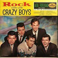 Los Crazy Boys Latin Mexican Garage Rock & Roll lp Wild Rockabilly Latin Nuggetz