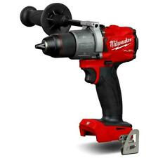 Milwaukee M18fpd2-0 18v Fuel Percussion Drill 2 X 5ah Batteries Charger & Case