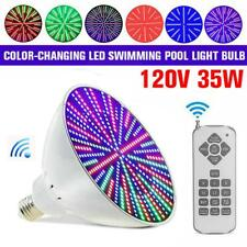 120V 35W Color Change Led Swimming Pool Fixture Light Bulb for Pentair Hayward