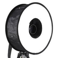 Diffuseur Softbox annulaire Ø46cm pour Flash Nikon Canon Nissin Metz Yongnuo