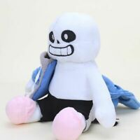 22cm Undertale Sans Plush Doll Soft Stuffed Toy Hugger Cushion Cosplay Kids Gift