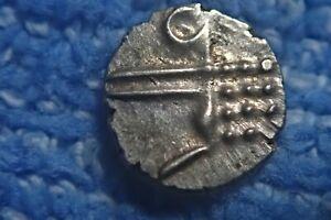 CEYLON: RARE 16th CENTURY SCARCE SILVER KOTTE FANUM (LANKA PERIOD)