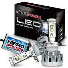 H4 8,000LMS 80W 6000K CREE XM-L2 LED HEADLIGHT KIT 1995 1996 1997 1998 ACURA TL