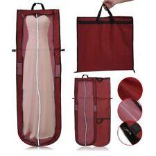 Wedding Evening Dress Bridal Gown Garment Dustproof Cover Storage Bag w/ Handle