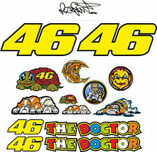 KIT 15 ADESIVI VALENTINO ROSSI 46 THE DOCTOR Aufkleber STICKERS