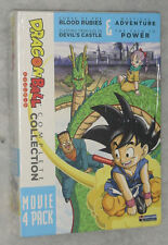 Dragon Ball Movie Pack Colección 4 DVD Box Set De Sangre Rubies,Devils,Mystical
