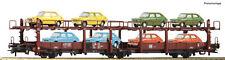Roco 76834 Vagón articulado DB Sela 543 librea Marrón con 8 Fiat 127