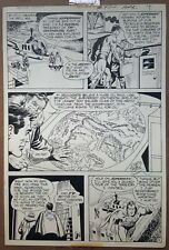 SUPERMAN ORIGINAL ART 1971 CURT SWAN & MURPHY ANDERSON From Action Comics # 411