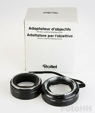 ROLLEI  LENS-ADAPTER SYSTEM 6000 (ROLLEI NUMBER 98409) BRAND NEW IN BOX