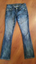 GUESS Jeans PISMO Straight size 24 x 32 Thin Slightly Distressed Medium Wash