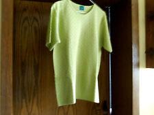 Pullover, Feinstrick, helles olivgrün, Gr. S (fällt größer aus)