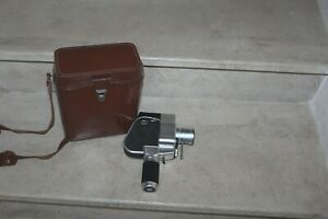 caméra 8mm gevaert zoomex, objectif angénieux type K2 F.7,5 - 35mm