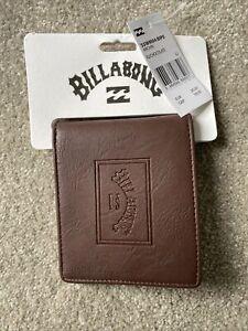 Billabong Brown Archin Bi Fold Wallet For Men