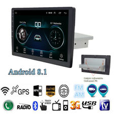 """1Din 9"""" Quad-core Android 8.1 Car Touch Stereo Radio GPS Navi Wifi BT 1+16G OBD"""