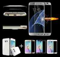 TPU Case Full Cover + Screen Protector Film Guard for Samsung Galaxy S6 S7 Edge