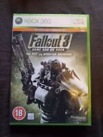 FALLOUT 3 ADD ON PACK THE PITT ANCHORAGE Microsoft Xbox 360 Game NEW AND SEALED