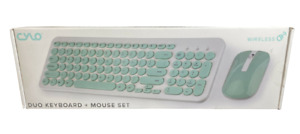 Cylo Duo Keyboard + Mouse Set